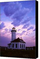 Point Wilson Lighthouse Canvas Prints - Point Wilson Lighthouse Canvas Print by Natural Selection Craig Tuttle