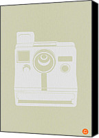Polaroid Camera Canvas Prints - Polaroid Camera 3 Canvas Print by Irina  March