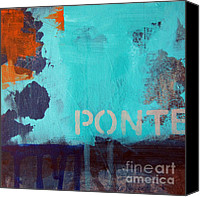 Fresco Canvas Prints - Ponte Canvas Print by Linda Woods