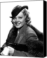 Publicity Shot Canvas Prints - Poor Little Rich Girl, Alice Faye, 1936 Canvas Print by Everett
