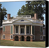 Octagonal Canvas Prints - Poplar Forest Squared Canvas Print by Teresa Mucha