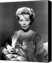 1960 Movies Canvas Prints - Portrait In Black, Lana Turner, 1960 Canvas Print by Everett