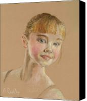 Ann Radley Canvas Prints - Portrait of a Dancer Canvas Print by Ann Radley