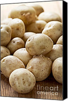 Vegetarian Canvas Prints - Potatoes Canvas Print by Elena Elisseeva