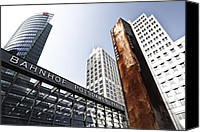 Distortion Canvas Prints - Potsdamer Platz BERLIN Canvas Print by Melanie Viola