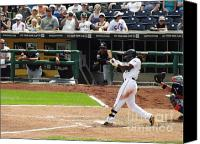 Mlb Photo Canvas Prints - Power Canvas Print by Chad Thompson