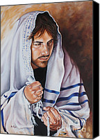 Ilse Kleyn Painting Canvas Prints - Prayer for Israel Canvas Print by Ilse Kleyn