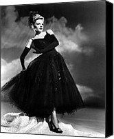 Opera Gloves Photo Canvas Prints - Presenting Lily Mars, Judy Garland, 1943 Canvas Print by Everett