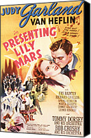 Bandleader Canvas Prints - Presenting Lily Mars, Judy Garland, Van Canvas Print by Everett
