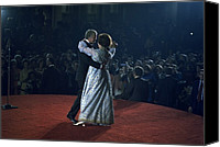First Lady Canvas Prints - President And Rosalynn Carter Dancing Canvas Print by Everett