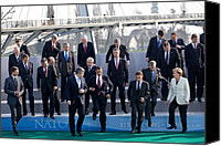 Bswh052011 Canvas Prints - President Obama Nato Secretary General Canvas Print by Everett