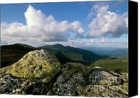 Exposed Canvas Prints - Presidential Range - White Mountains New Hampshire Canvas Print by Erin Paul Donovan