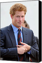 Red Carpet Canvas Prints - Prince Harry At A Public Appearance Canvas Print by Everett