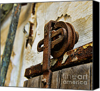 Rusty Door Canvas Prints - Prison door Canvas Print by Paul Ward