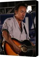 Springsteen Canvas Prints - Promised Land Canvas Print by Brian M Lumley