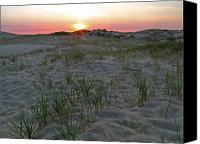 Cape Cod Canvas Prints - Provinceland Dunes Canvas Print by Juergen Roth