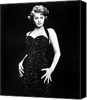 Publicity Shot Canvas Prints - Publicity Shot Of Sophia Loren Used Canvas Print by Everett