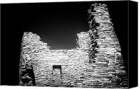 Indian Ruins Canvas Prints - Pueblo Canvas Print by John Rizzuto