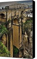 Ronda Canvas Prints - Puente Nuevo - Ronda Canvas Print by Juergen Weiss