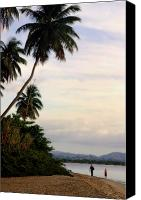 Puerto Rico Photo Canvas Prints - Puerto Rico Palms Canvas Print by Madeline Ellis