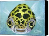 Fish Canvas Prints - Puffy Canvas Print by Arleana Holtzmann