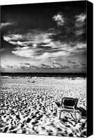Fotos Canvas Prints - Punta Cana Lounge Canvas Print by John Rizzuto