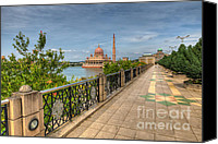 Case Canvas Prints - Putrajaya Lake Canvas Print by Adrian Evans
