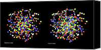 Plasma Photo Canvas Prints - Quark-gluon Plasma Canvas Print by Lawrence Berkeley National Laboratory