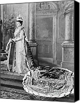 Marie-louise Canvas Prints - Queen Alexandra, 1902 Canvas Print by Omikron