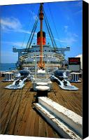 Potography Canvas Prints - Queen Mary Canvas Print by Perry Webster