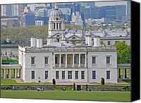 Naval College Canvas Prints - Queens House Canvas Print by Rod Jones