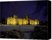 Snowy Night Canvas Prints - Queens University, Belfast, Ireland Canvas Print by The Irish Image Collection