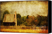 Nostalgic Digital Art Canvas Prints - Quiet Life Canvas Print by Andrew Paranavitana