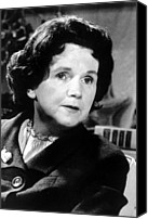 Rachel Carson Canvas Prints - Rachel Carson, Circa 1962 Canvas Print by Everett