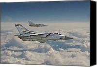 Raf Canvas Prints - RAF Tornado Canvas Print by Pat Speirs