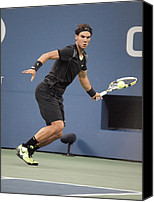 Red Carpet Canvas Prints - Rafael Nadal In Attendance For Us Open Canvas Print by Everett