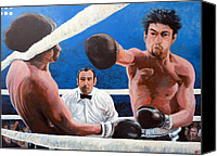 Robert Deniro Canvas Prints - Raging Bull Canvas Print by Tom Roderick