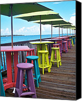 Tropical Beach Canvas Prints - Rainbow of Keys Canvas Print by Chris Andruskiewicz