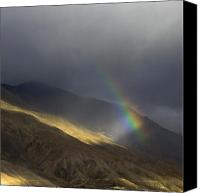 Raining Canvas Prints - Rainbow over Kaza Canvas Print by Hitendra Sinkar