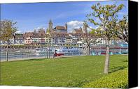Upper Canvas Prints - Rapperswil Canvas Print by Joana Kruse
