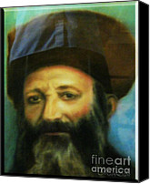 Rav Canvas Prints - Rav Abraham Isaac Kook Canvas Print by Miriam Shaw