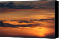Cloud Digital Art Canvas Prints - Reach for the Sky 10 Canvas Print by Mike McGlothlen