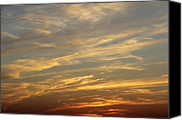 Sunset Digital Art Canvas Prints - Reach for the Sky 7 Canvas Print by Mike McGlothlen