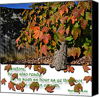 Fall Scenes Canvas Prints - Ready Canvas Print by Larry Bishop