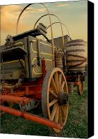 Chuck Wagon Canvas Prints - Ready To Roll Canvas Print by Robert Anschutz