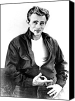 1950s Movies Canvas Prints - Rebel Without A Cause, James Dean, 1955 Canvas Print by Everett