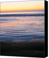 Topsail Island Canvas Prints - Receding  Canvas Print by JC Findley