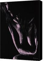 Long Hair Canvas Prints - Recollections Canvas Print by Richard Young