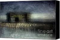 Boathouse Canvas Prints - Recurrent Dream Canvas Print by Andrew Paranavitana