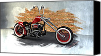 Louis Ferreira Art Canvas Prints - Red Bobber Canvas Print by Louis Ferreira